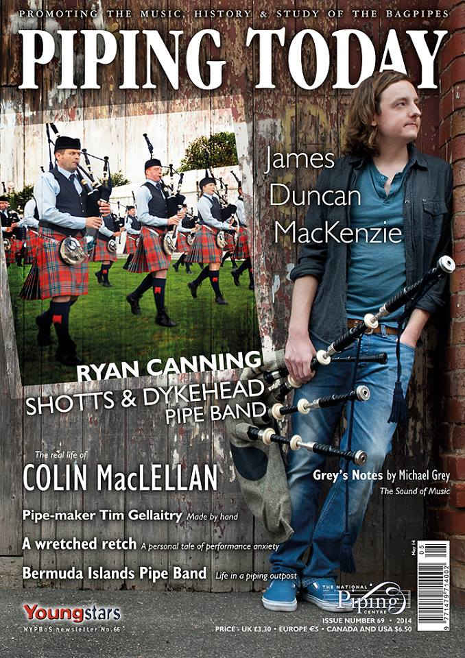 Piping Today Cover Shot