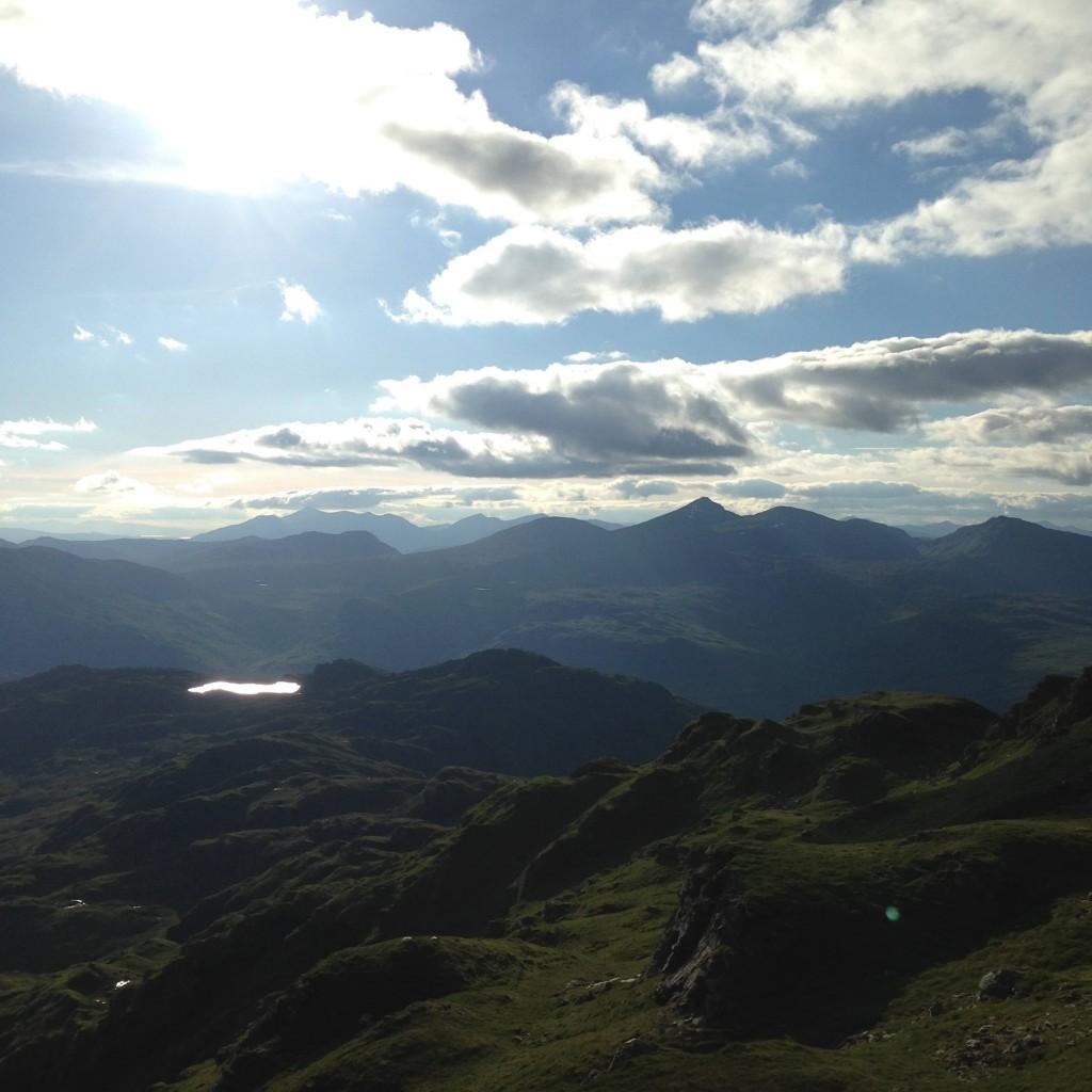 View from Beinn Cabhair