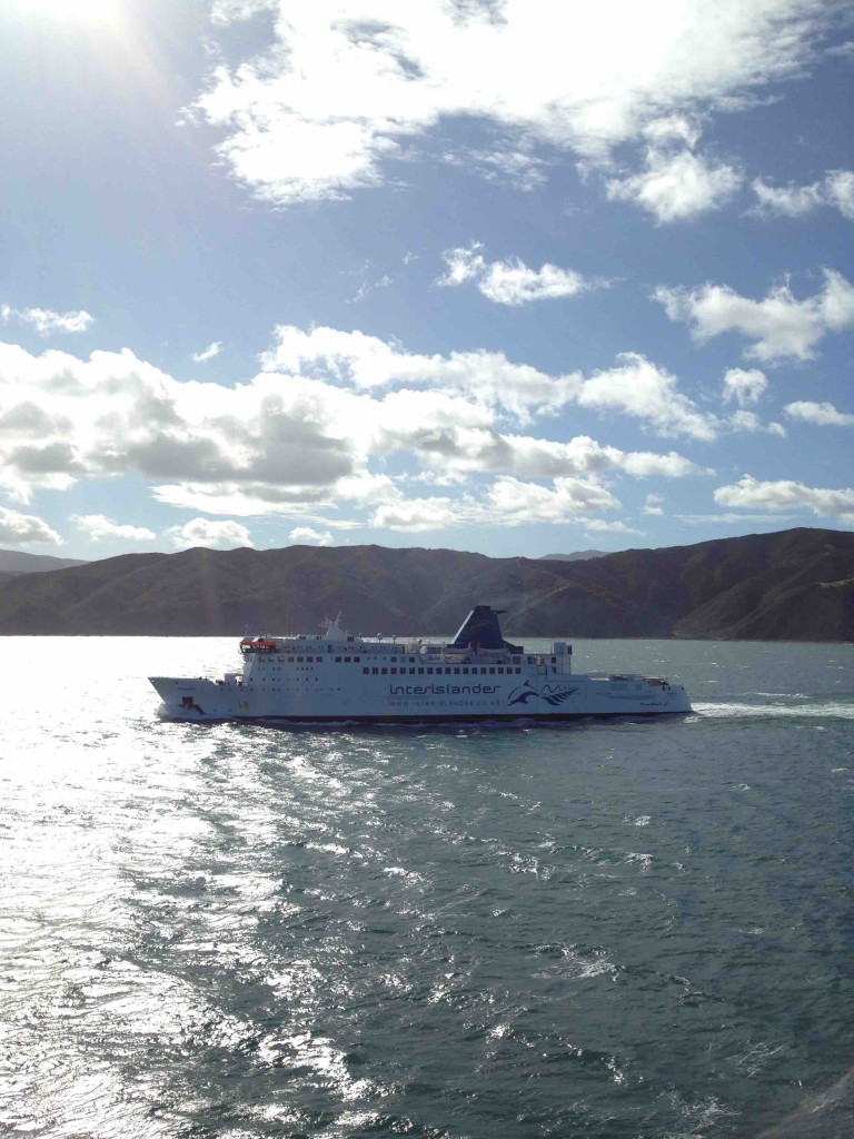 NZ inter island ferry service